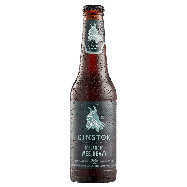 Einstok Wee Heavy  - Amber Beer from Iceland 8%