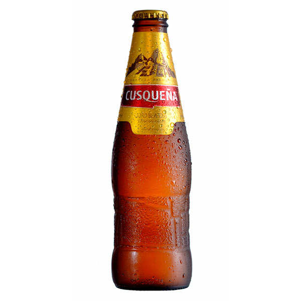 Cusquena Dorada Golden - Beer from Peru 4.8%