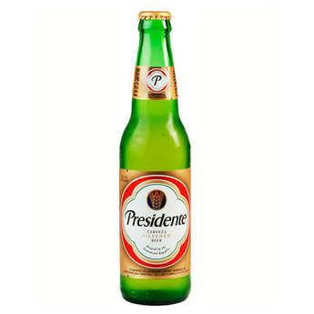 Cerveceria nacional dominicana - Presidente - Bière blonde de République Dominicaine 5%