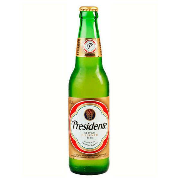 Presidente - Bière blonde de République Dominicaine 5%