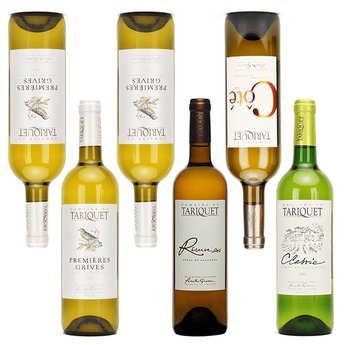 Domaine du Tariquet - Assortiment découverte vins blancs Tariquet
