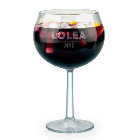 Lolea - Le verre ballon à sangria Lolea