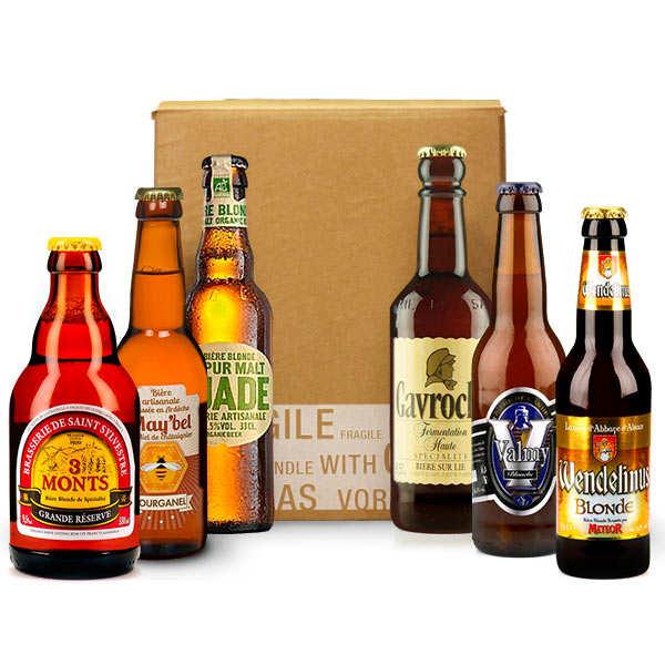 Box découverte de 6 bières artisanales de France (mai)