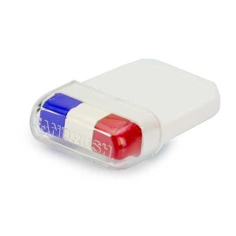 BienManger.com - Maquillage Supporter Bleu Blanc Rouge - Stick tricolore