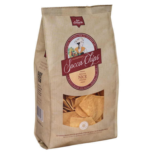 Socca Chips® - Chips de pois chiche