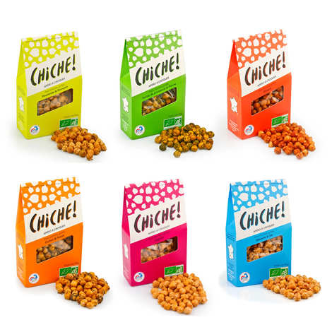 Chiche! - Organic Chikpeas to Crunch Discovery Offer
