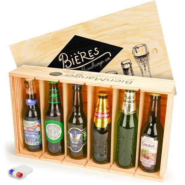 "6 beers case ""2018 World Cup Edition"" France Group"