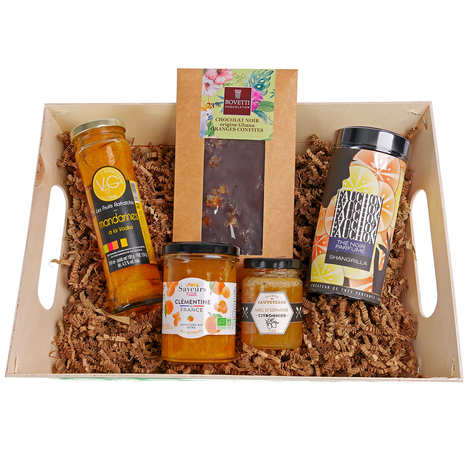 BienManger paniers garnis - Delicious Citrus Gift Basket
