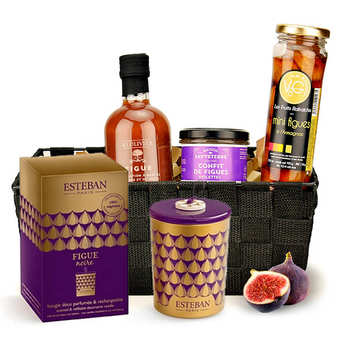 BienManger paniers garnis - Scented Fig Gift Basket