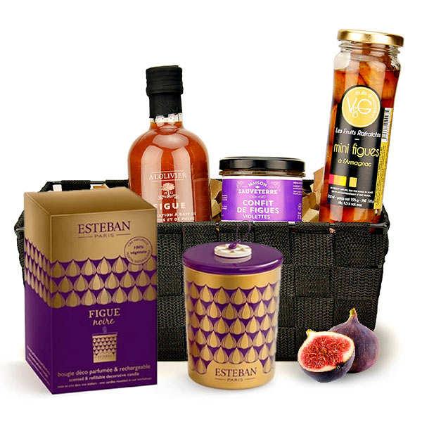 Scented Fig Gift Basket