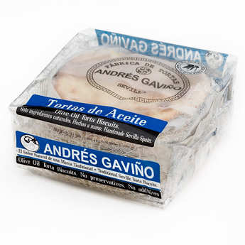 Andres Gavino - Sugared and Aniseed Olive Oil Biscuits - Tortas de aceite
