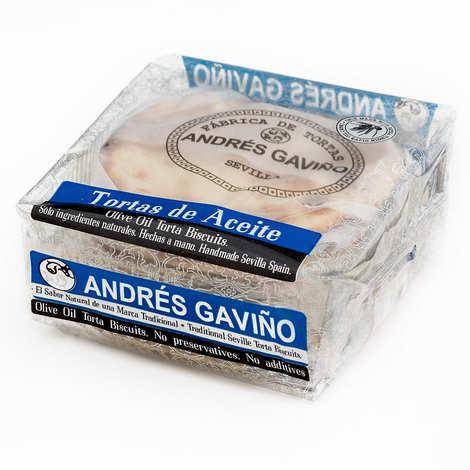 Andres Gavino - Galettes huile d'olive, sucre et anis - Tortas de aceite