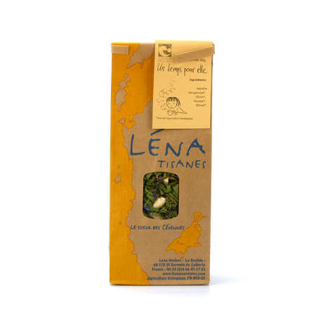 Léna Tisanes - Organic 'Un temps pour elle' Herbal Tea
