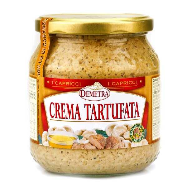 Crème de champignon à la truffe