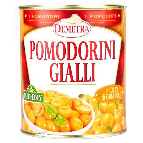 Demetra - Semi Dried Yellow Cherry Tomatoes with Oil