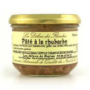 Les Cuisinés des Sources - Rhubarb Pâté