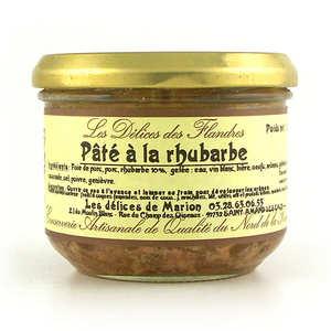 Les Cuisinés des Sources - Pâté à la rhubarbe
