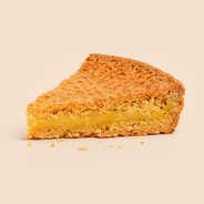 Gâteau basque à la crème d'amande