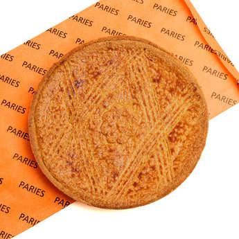 Maison Pariès - Gâteau basque à la confiture de cerise noire