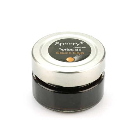 Sphery + - Soya Sauce Pearls