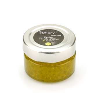 Sphery + - Olive Oil with Lemon Pearls