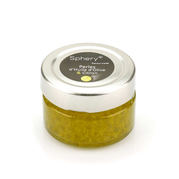 Olive Oil with Lemon Pearls