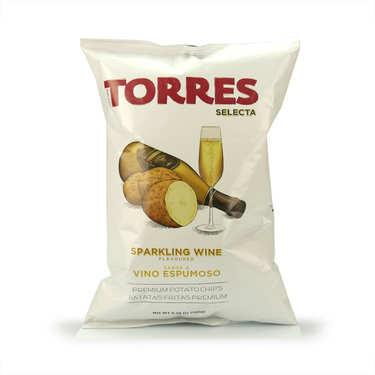Chips gourmet au cava (vin mousseux) Patatas Torres