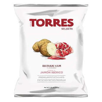 Patatas Torres - Chips gourmet au jambon ibérique Patatas Torres