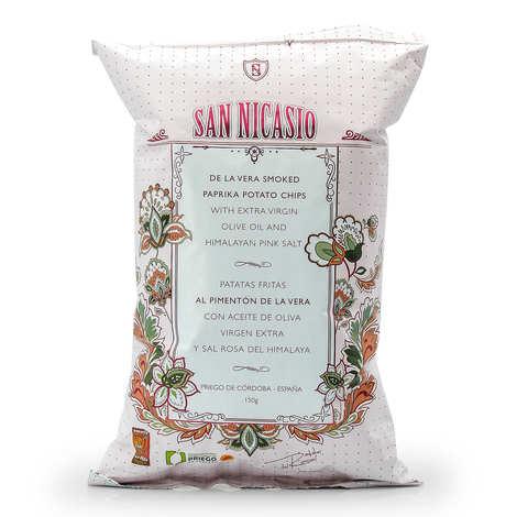 San Nicasio - Chips San Nicasio au Pimenton de la Vera (paprika fumé)