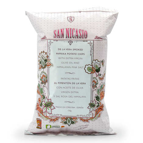 San Nicasio - Gourmet Smoked Paprika Crisps San Nicasio