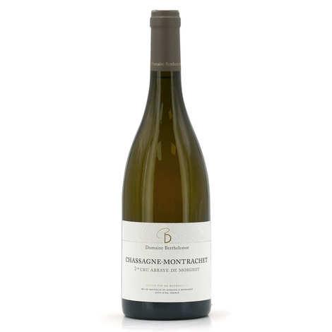 "Domaine Berthelemot - Chassagne-Montrachet 1er Cru ""Abbaye de Morgeot""- Withe Wine"