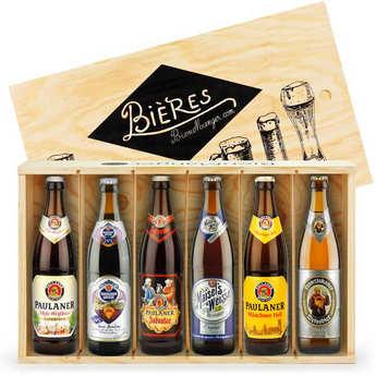 BienManger paniers garnis - 6 German Beers Gift Set