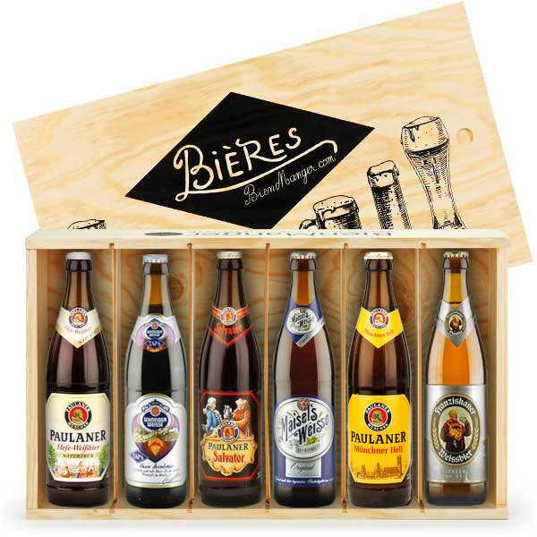 Caisse de 6 bières allemandes