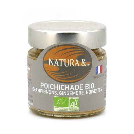 Pellegrain en Provence - Toastinette pois chiches, champignons bio à tartiner