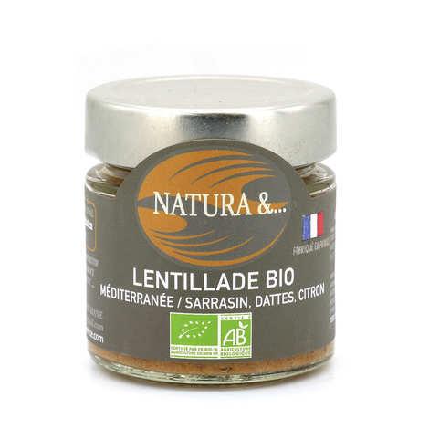 Pellegrain en Provence - Lentillade du midi bio à tartiner - Lentilles germées, sarriette, marjolaine
