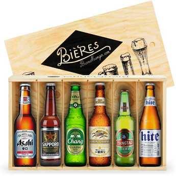 BienManger paniers garnis - 6 Beers from Asia Gift Crate