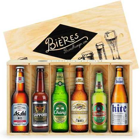 BienManger paniers garnis - Caisse de 6 bières asiatiques