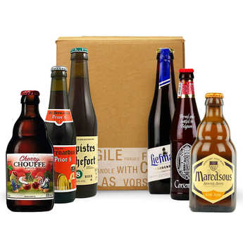 - Box découverte de 6 bières belges (juin)