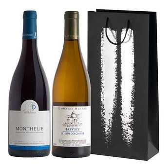 BienManger paniers garnis - Burgundy Seduction Wine Gift Box