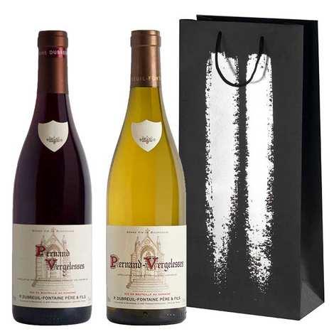 """Domaine Dubreuil-Fontaine - Coffret 2 Bourgogne """"Escale à Pernand-Vergelesses"""" (vins blanc et rouge)"""