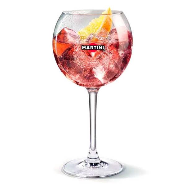Le verre ballon Martini