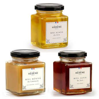 Hédène - Pack découverte miels d'exception Hédène
