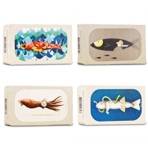 Assortiment de poissons en boîte José Gourmet