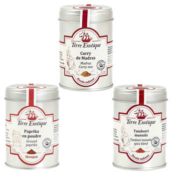 Terre Exotique - Assortment of exotic spices
