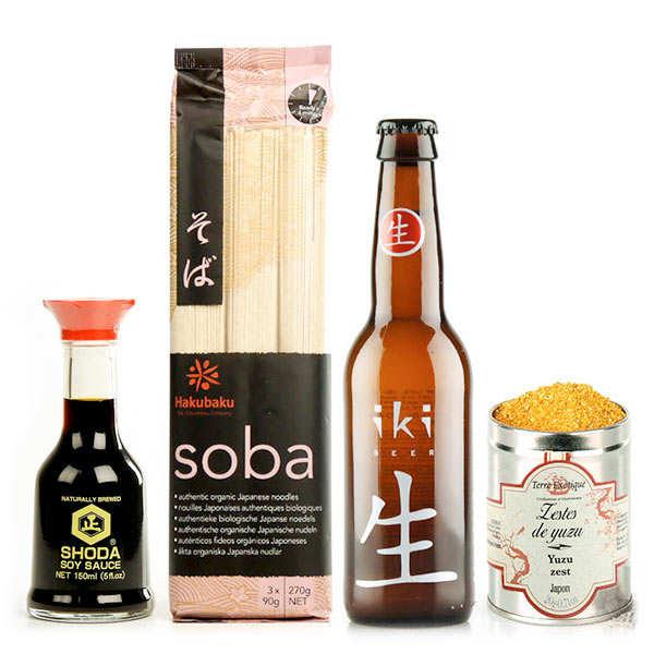 Assortiment Les essentiels du repas japonais