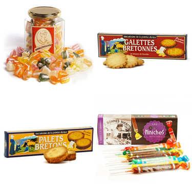 Assortment for Breton snack