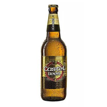 Castle lager - Bière blonde du d'Afrique du Sud 5%