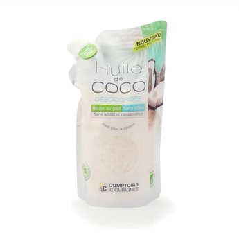 Comptoirs et Compagnies - Huile de coco désodorisée bio - doypack