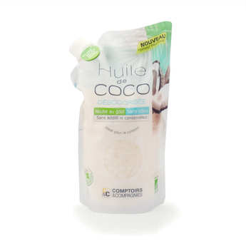Comptoirs et Compagnies - Organic Deodorized Coconut Oil - Doypack