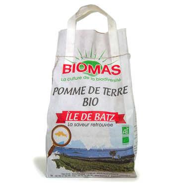 Organic Fresh Batz Island Potatoes